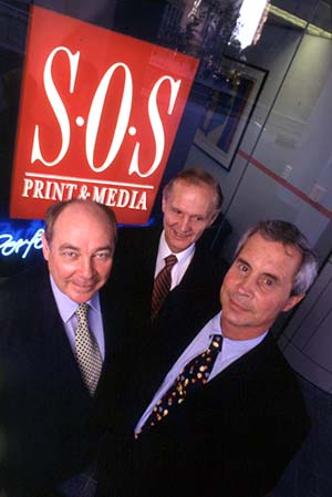 The three founders: Michael Peel, Bob Gardner and Andy von Faber-Castell