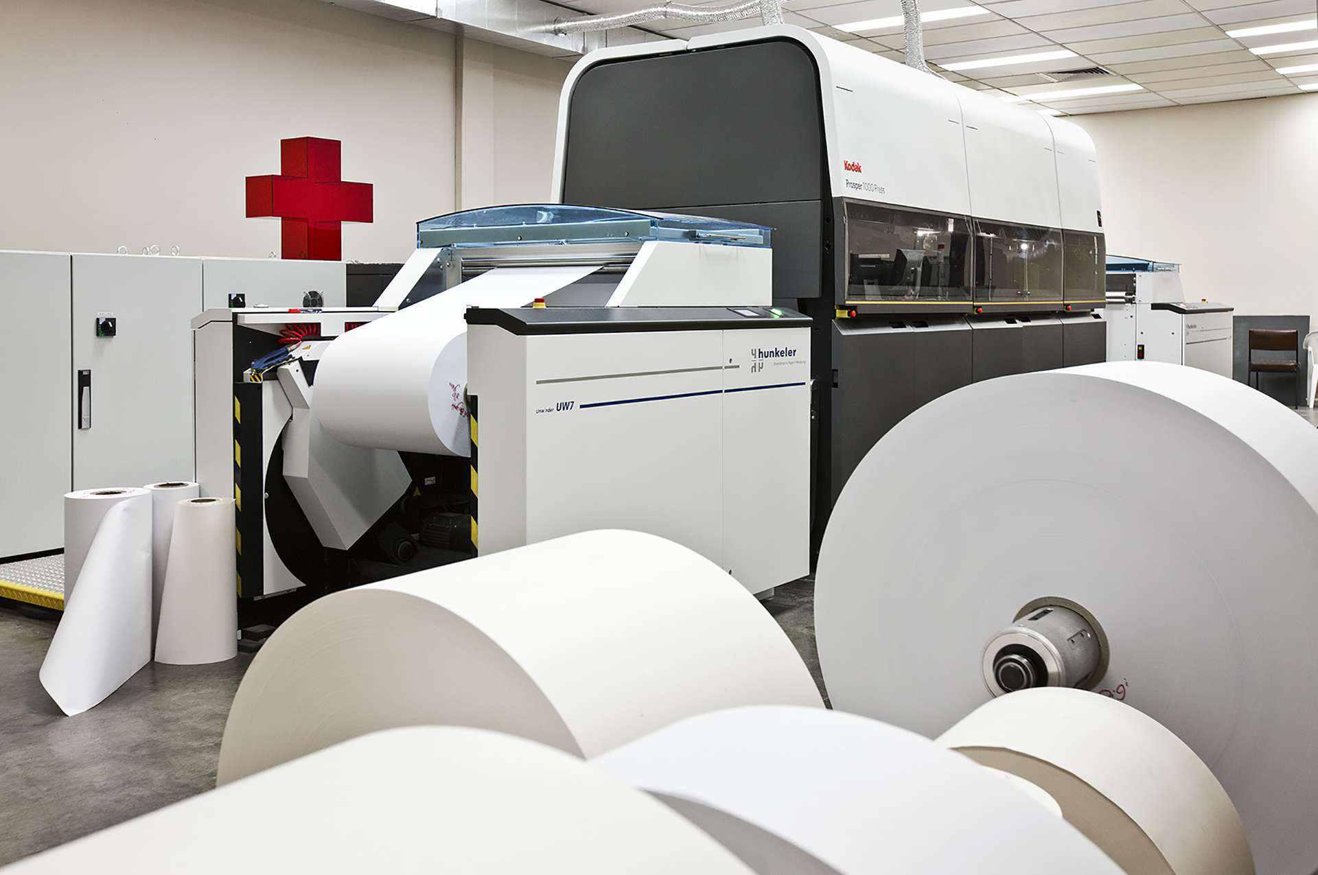 SOS Installs Kodak Prosper High Speed Inkjet - SOS Print + Media Group